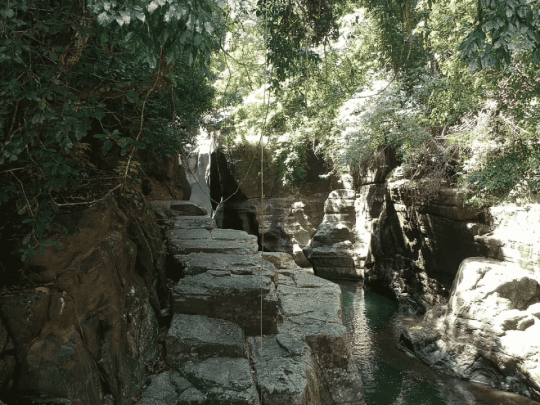 Cunca Wulang , Preferable Place for Canyoning