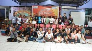 Gelar Akbar Relawan Buku Bagi NTT